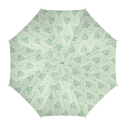 Botanical Luxury Collection (Pale Fern) - Umbrella