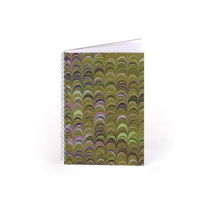 Spiral Note Books - Around Ex Libris Yellow Remix (1800 -1950)