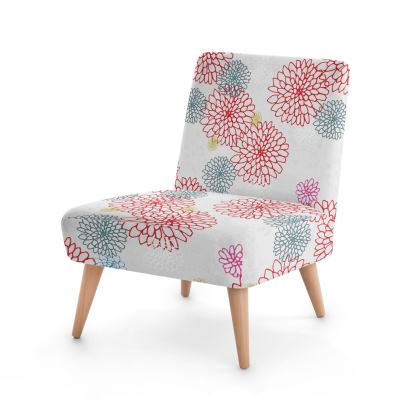 Chrysanthemum Luxury Collection (White) - Occasional Chair