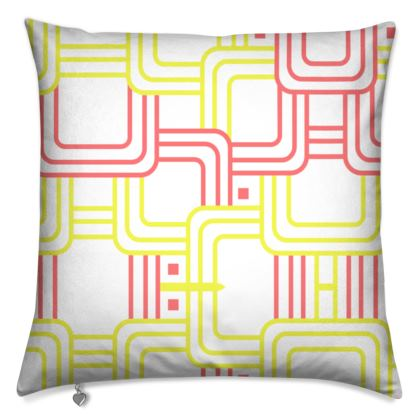 Cushions- Emmeline Anne Red/Yellow Links