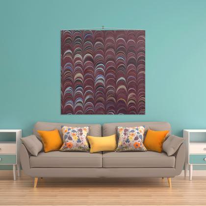Wall Hanging - Around Ex Libris Remix (1800 -1950)