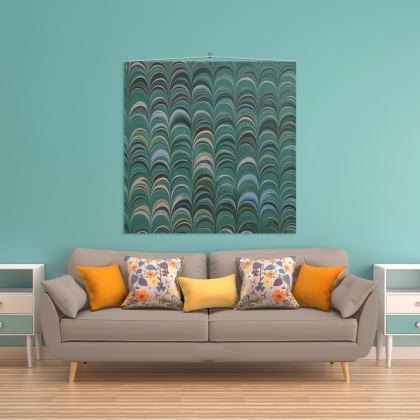 Wall Hanging - Around Ex Libris Jade Remix (1800 -1950)