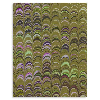Metal Prints - Around Ex Libris Yellow Remix (1800 -1950)
