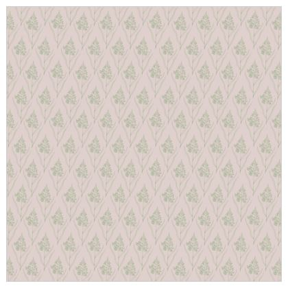 Chrysanthemum Luxury Collection (Green/Pink - small) - Fabric Printing