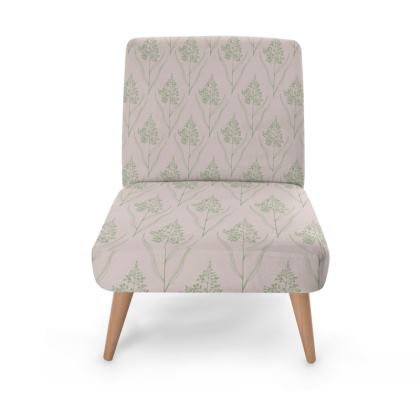 Surprising Botanical Luxury Collection Green Pink Occasional Chair Unemploymentrelief Wooden Chair Designs For Living Room Unemploymentrelieforg
