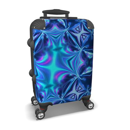 Suitcase, Turquoise Reflections