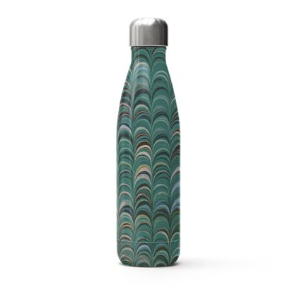 Stainless Steel Thermal Bottle - Around Ex Libris Jade Remix (1800 -1950)