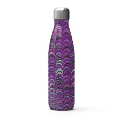 Stainless Steel Thermal Bottle - Around Ex Libris Pink Remix (1800 -1950)