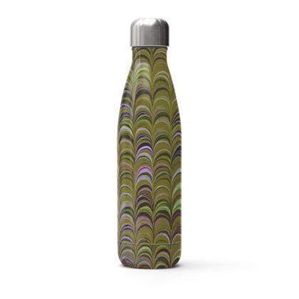Stainless Steel Thermal Bottle - Around Ex Libris Yellow Remix (1800 -1950)