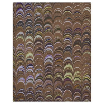Duvet Covers USA - Around Ex Libris Brown Remix (1800 -1950)