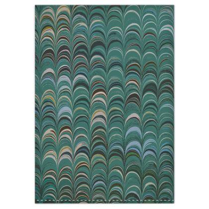 Duvet Covers - Around Ex Libris Jade Remix (1800 -1950)