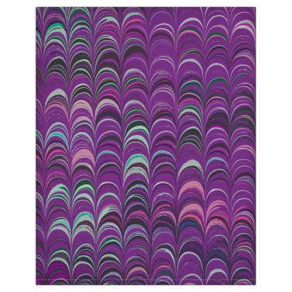 Duvet Covers USA - Around Ex Libris Pink Remix (1800 -1950)