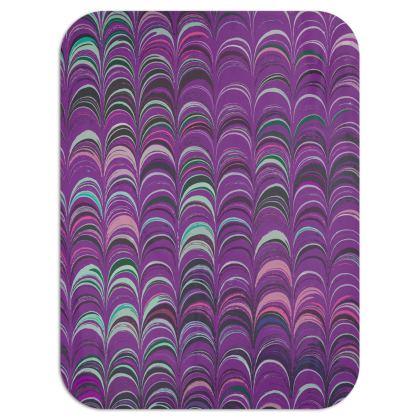Single Layer Blankets - Around Ex Libris Pink Remix (1800 -1950)