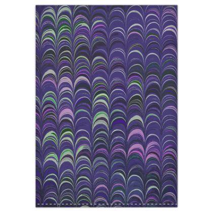 Duvet Covers - Around Ex Libris Purple Remix (1800 -1950)