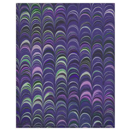 Duvet Covers USA - Around Ex Libris Purple Remix (1800 -1950)