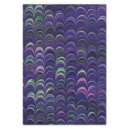 Bed Sheets - Around Ex Libris Purple Remix (1800 -1950)
