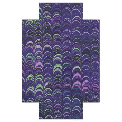 Fitted Sheets USA - Around Ex Libris Purple Remix (1800 -1950)