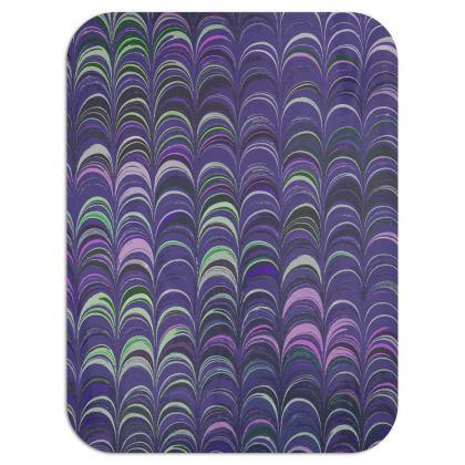 Single Layer Blankets - Around Ex Libris Purple Remix (1800 -1950)