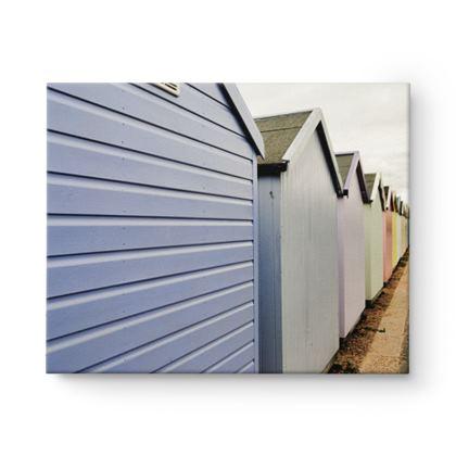 Rectangle Canvas - Beach Huts