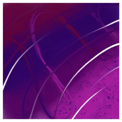 Leggings in Violet Abstract print