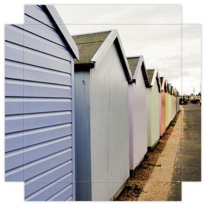 Mini Canvas Prints - Beach Huts