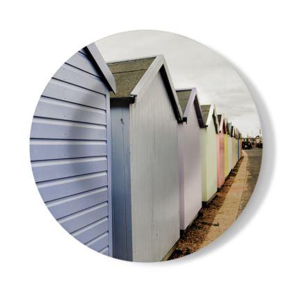 Decorative Plate - Beach Huts