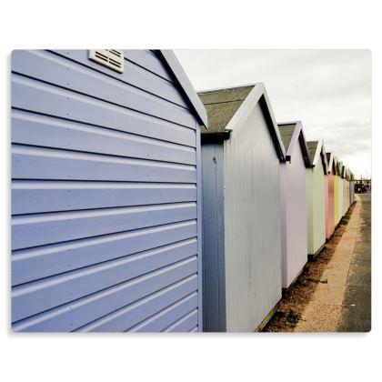 Metal Prints - Beach Huts