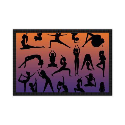 Mats - Burnt Sunset Yoga Poses