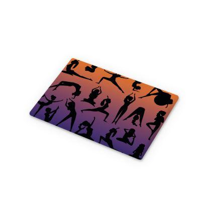 Cutting Boards - Burnt Sunset Yoga Poses
