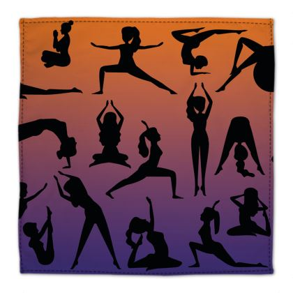 Napkins - Burnt Sunset Yoga Poses