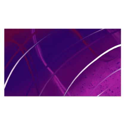 Sarong in Violet Abstract