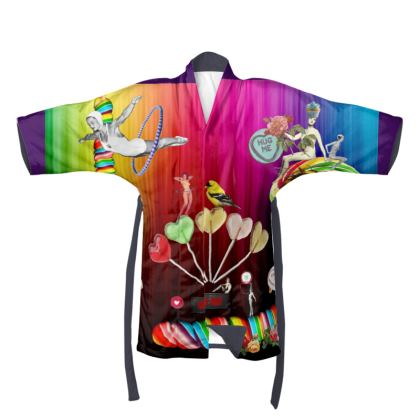 Sweet Rainbow Hug Kimono