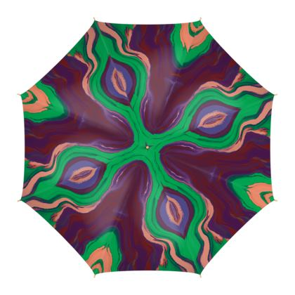 Umbrella - Colours of Saturn Marble Pattern 2