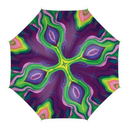 Umbrella - Colours of Saturn Marble Pattern 3