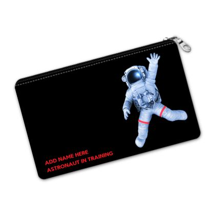 Astronaut in Training Back to School Black Pencil Case