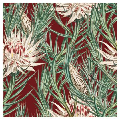 Large Scale Wallpaper | Astoria in Deep Red