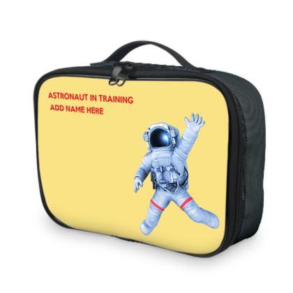 Soyuz Spacecraft Astronaut in Training Back to School Lunch Bag