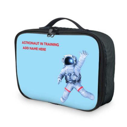 Soyuz Spacecraft Astronaut in Training Back to School Lunch Bags