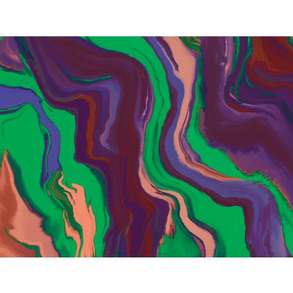 Espadrilles - Colours of Saturn Marble Pattern 2
