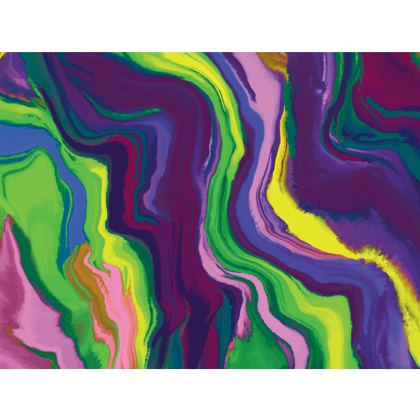 Espadrilles - Colours of Saturn Marble Pattern 3