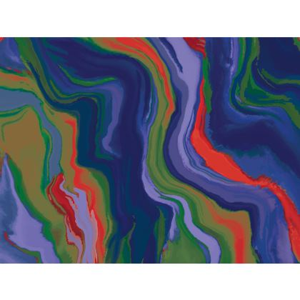 Espadrilles - Colours of Saturn Marble Pattern 4