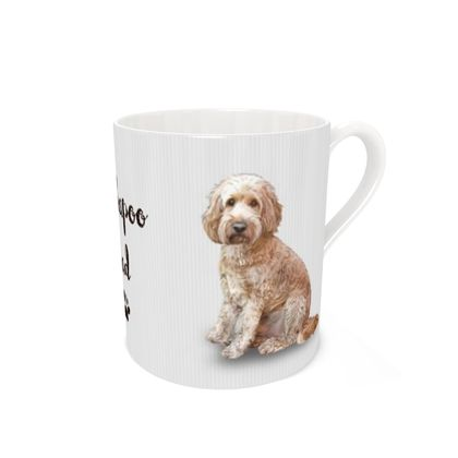 Cockapoo Dad large bone china mug