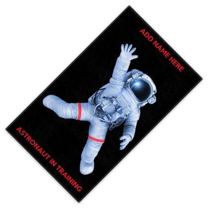 Astronaut in Training Back to School Swim Sport Towels