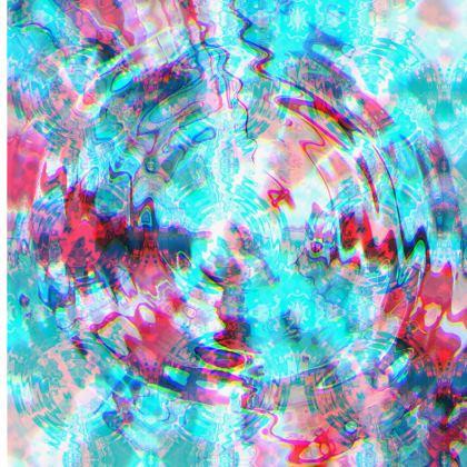 Yoga Mat - Turquoise Ripples