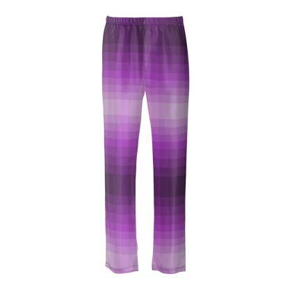 Damen Seiden-Schlafanzughose