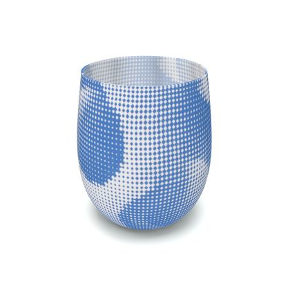 Water Glass - Endleaves of Art. Taste. Beauty (1932) Blue Remix