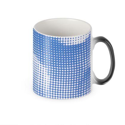 Heat Changing Mug - Endleaves of Art. Taste. Beauty (1932) Blue Remix