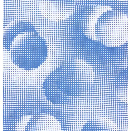 Cup And Saucer - Endleaves of Art. Taste. Beauty (1932) Blue Remix