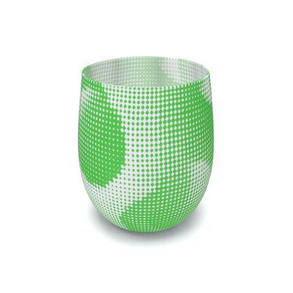 Water Glass - Endleaves of Art. Taste. Beauty (1932) Green Remix