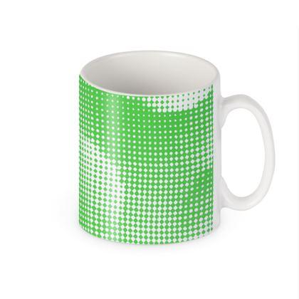 Builders Mugs - Endleaves of Art. Taste. Beauty (1932) Green Remix